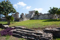 El Castillo Temple at Tulum Royalty Free Stock Photos