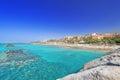 El Duque beach Tenerife Spain at summer Royalty Free Stock Photo