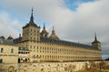 El escorial monastery in madrid spain general view of province Royalty Free Stock Image