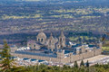 El Escorial monastery near Madrid, Spain. Royalty Free Stock Photo