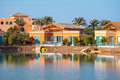 El gouna egypt view of resort north africa Royalty Free Stock Photography