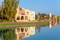 El gouna egypt view of resort north africa Stock Photography