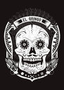 El gringo vector illustration ideal for printing on apparel clothes Royalty Free Stock Photography