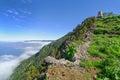 El Hierro - Ascent to the Monumento al General Serrador Royalty Free Stock Photo