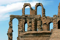 El Jem in Tunisia Royalty Free Stock Photography
