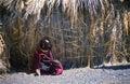 El molo woman, Lake Turkana, Kenya Royalty Free Stock Photo
