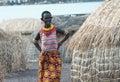 El molo woman  near lake Turkana Royalty Free Stock Photo