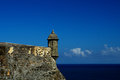 El morro bastion in san juan a puerto rico Royalty Free Stock Photos