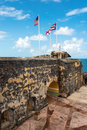 El morro fortress called in old san juan puerto rico Stock Image