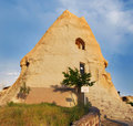 El Nazar rock carved church, Goreme, Cappadocia Royalty Free Stock Photo