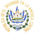 El Salvador Coat of Arms Royalty Free Stock Photo