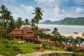 El spa de koh chang paradise resort es un sanctuar romántico pacífico Imagen de archivo