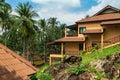 El spa de koh chang paradise resort es un sanctuar romántico pacífico Foto de archivo