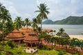 El spa de koh chang paradise resort es un sanctuar romántico pacífico Fotos de archivo libres de regalías