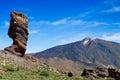 El teide volcano at the canary islands spain Royalty Free Stock Photos