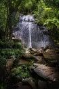 El Yunque La Coca waterfall Royalty Free Stock Photo