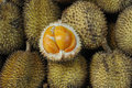 Elai, les fruits tropicaux aiment le fruit de durian Photographie stock