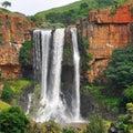 Elands waterfall Royalty Free Stock Photo