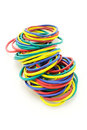 Elastic rubber bands Royalty Free Stock Photo