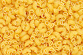 Elbow pasta pattern can be used as background Royalty Free Stock Photography