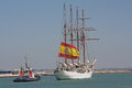 Elcano, begins the journey.