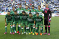 Elche CF lineup Royalty Free Stock Photo