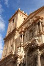 Elche spain basilica of santa maria st mary in Stock Photography