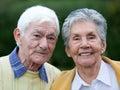 Elder couple Royalty Free Stock Photo