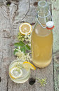 Elderflower cordial Stock Photography