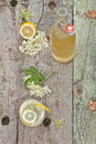 Elderflower cordial Royalty Free Stock Photography