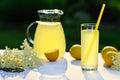 Elderflower Juice With Lemon O...