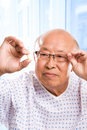 Elderly asian healthcare Royalty Free Stock Image