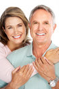 Elderly couple Royalty Free Stock Photo