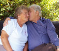 Elderly couple, Stock Photography