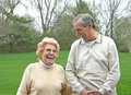 Elderly Couple Laughing Royalty Free Stock Photo