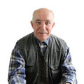 An elderly man Royalty Free Stock Photo