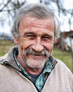 Elderly person, portrait