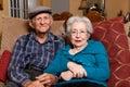 Elderly Senior Couple Stock Image