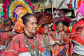 Elderly tribal women Philippines Stock Image