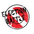 Election Battle rubber stamp