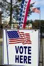 Election Polling Place Station Royalty Free Stock Photo