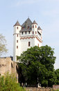 Electoral castle in eltville am rhein hesse germany Royalty Free Stock Images