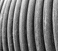 Electric cable closeup Royalty Free Stock Photo