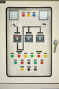 Electric control box system in an office building Royalty Free Stock Images