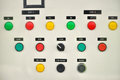 Electric control system in an office building Royalty Free Stock Photography
