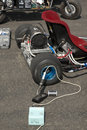 Electric go kart Stock Photo