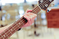 Electric guitar details Royalty Free Stock Photo