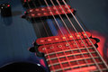 Electric Guitar Strings Closeup Royalty Free Stock Photo