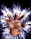 Electric Hand Stock Photography