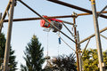 Electric hoist Royalty Free Stock Photo